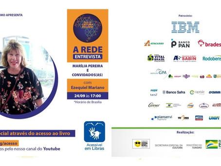 Participação do GT Acessibilidade em evento promovido pela Rede de Leitura Inclusiva  Dorina Nowill