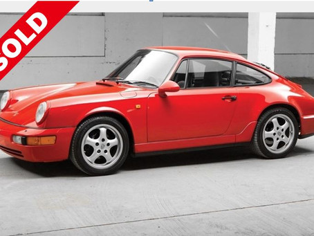 1993 PORSCHE 911 CARRERA 2 (SOLD)