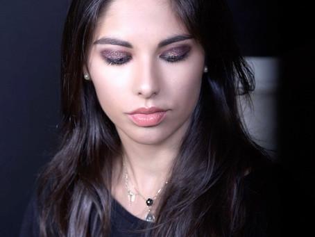 Glitter Eyeshadow MakeUp - Glam and trendy @ Sakis Isaakidis The MakeUp Artist School