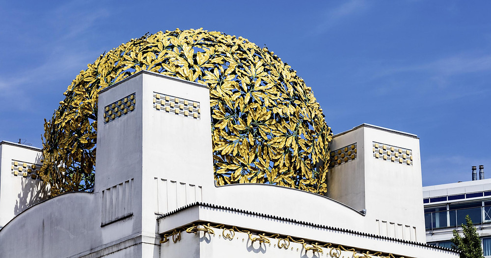 In the Secession - the art nouveau museum you can see the Beethoven Frieze, created by Gustav Klimt in 1902