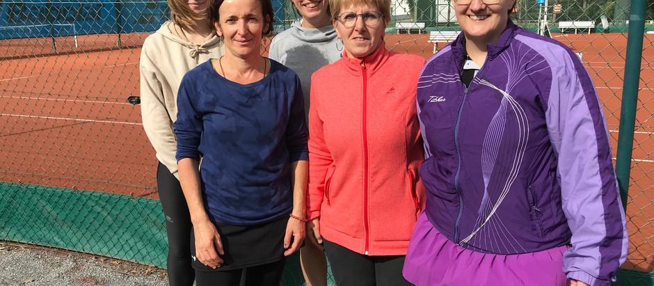 Victoire de l'équipe 3 femmes 4 à 0 contre Combree