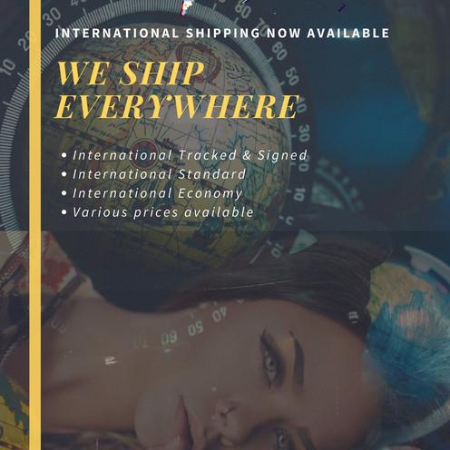 New international shipping