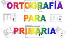 Ortografía para Primaria