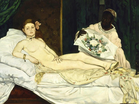 Olympia, by Manet, decrypted.