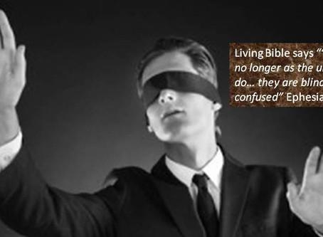 Set Free from spiritual blindness