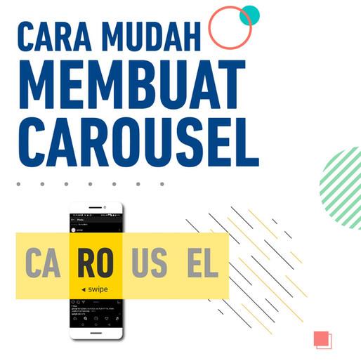 Cara Membuat Postingan Carousel Dengan Mudah