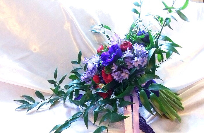 Spring Wedding Bouquet by PC Creations Leeds