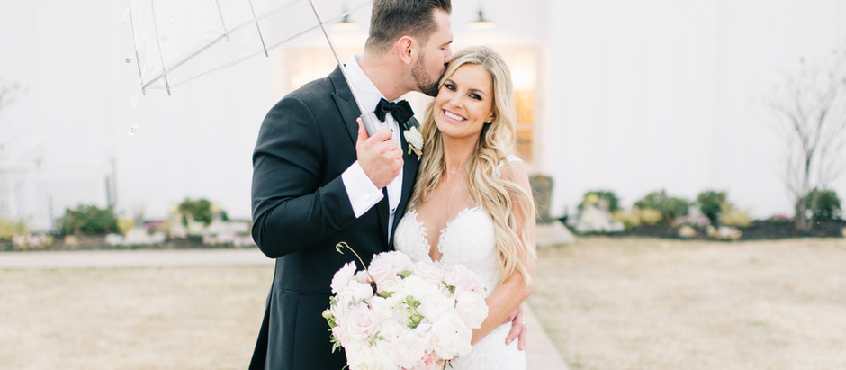 The Grand Ivory Wedding | Kimberly & Travis | Classic White Barn Wedding