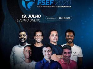 Inscrições abertas para o FSEF 2020