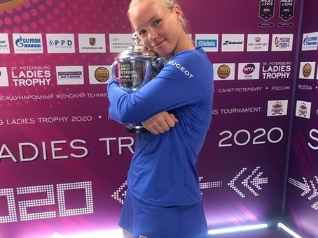Bertens (ned) wins 10th title in st. petersburg