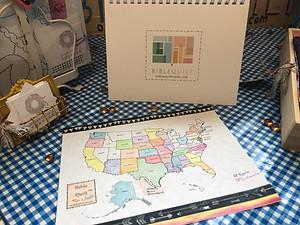 Bible Quilt map