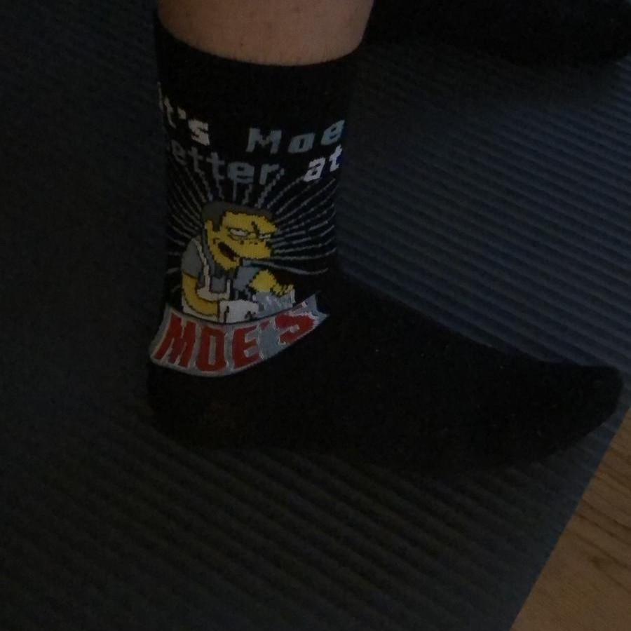Iker y sus calcetines de Moe Szyslak