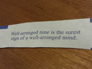 Fortune cookie quote of the day