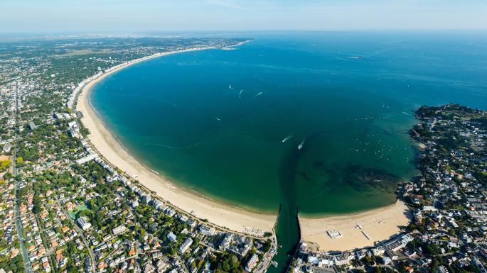 Baie du pouliguen ou baie de La Baule, un incontournable pour mouiller cette été en bateau ou en voilier