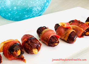 Stuffed Dates Wrapped in Prosciutto