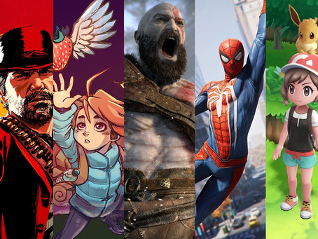 Year In Review - Bfire's Top 10 games for 2018