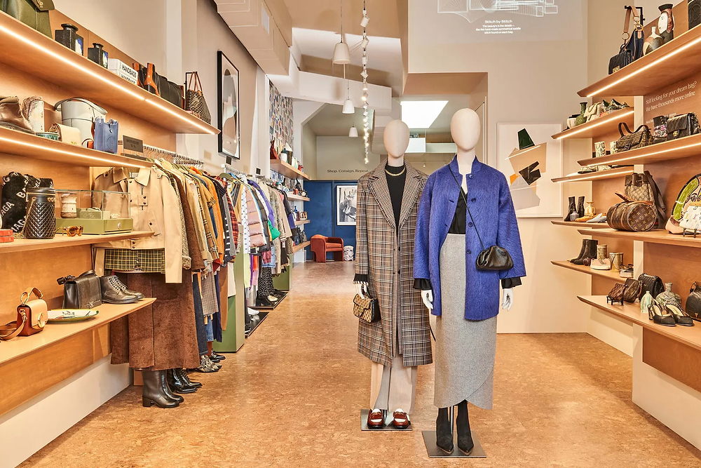 The RealReal's retail store in Brooklyn