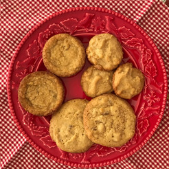 "Brown Sugar-Ginger Crisps from The Gourmet Cookbook prepared by MaryLou ""lovely blend of flavors, ginger is subtle"""