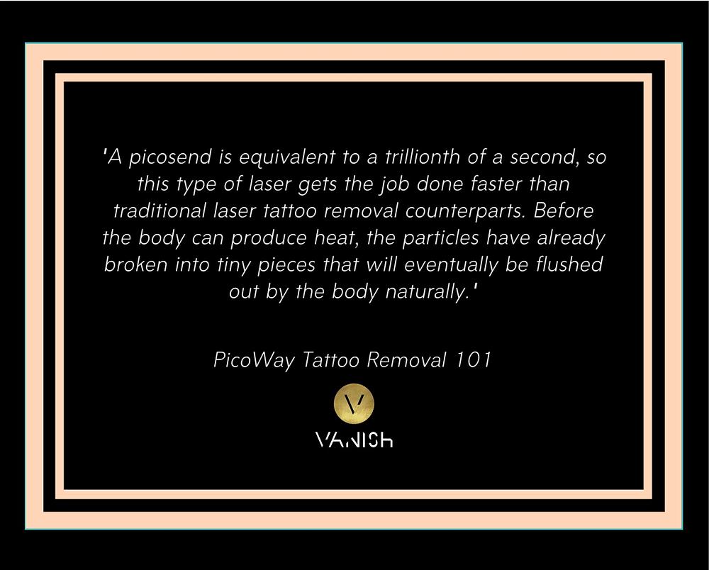 Picoway - Picosend laser tattoo removal