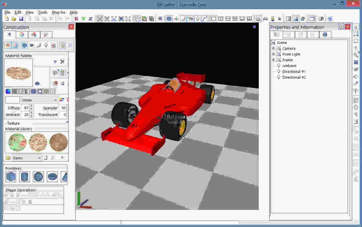 3D Crafter برنامج