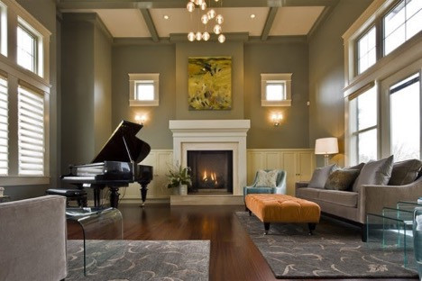 The focal points are those particular places that instantly grab the attention of the people as soon as they walk into your living room. Every professional interior designer, who provides ideas on living room designs, first determines the focal point of the room before they start bringing in furniture.