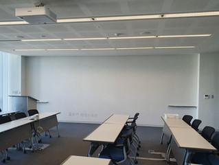 벽전면 연수원 교육 회의실