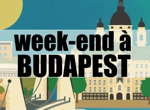 2 jours à Budapest en Hongrie