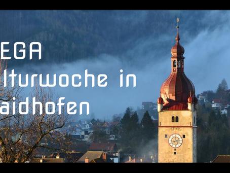DIE MEGA-WOCHE DER KULTUR  Waidhofen/Ybbs Genuss statt Corona