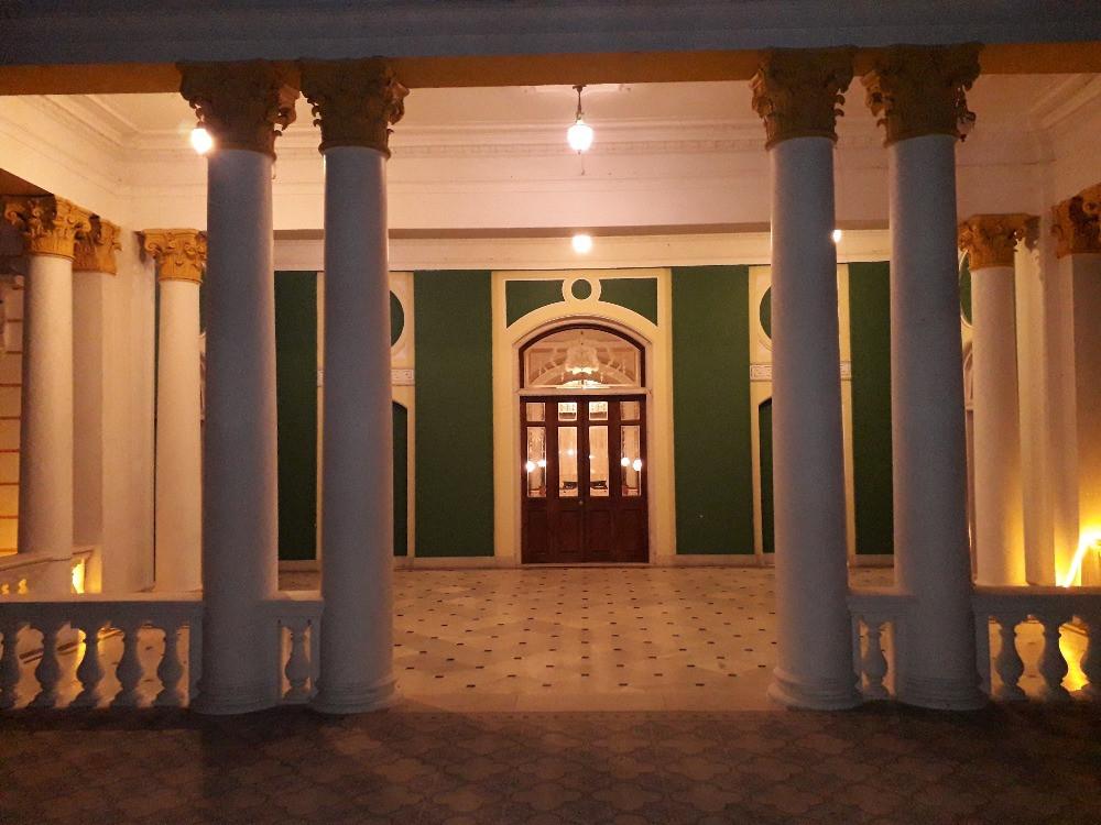 Main Balcony in Lalitha Mahal Palace