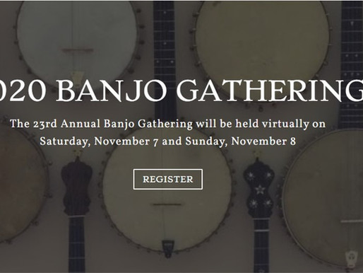 Thoughts on the Virtual Banjo Gathering 2020