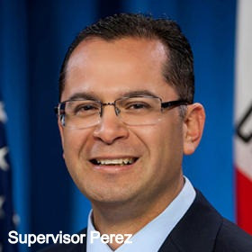 Supervisor Victor Manuel Perez says NO!