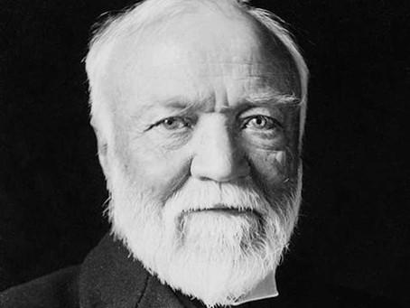 44.  Andrew Carnegie - The Steel Magnate  and Greatest Philanthropist