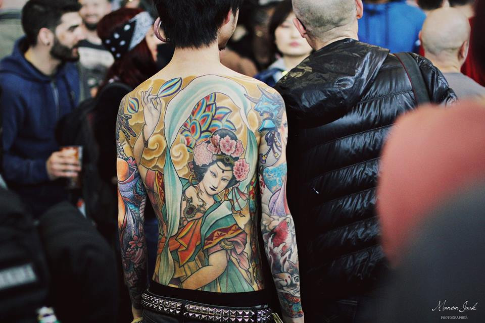 tatouage japonais traditionnel irezumi technique ancestrale geisha