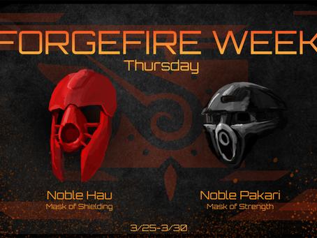FORGEFIRE Thursday: Masks of Fortitude