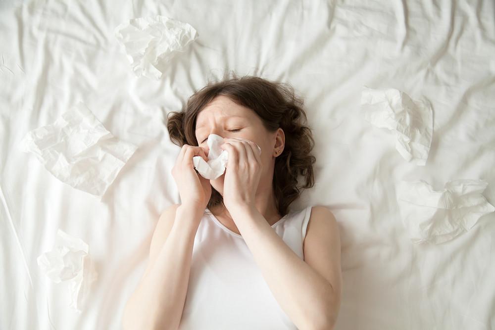 alergias: ácaro e colchão