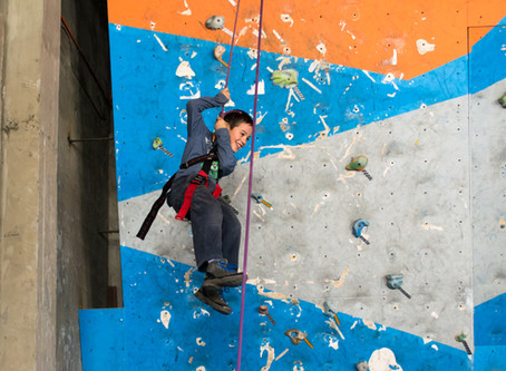 A Day of Rock Climbing with Laguna Verde