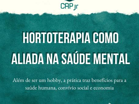 Hortoterapia como aliada na saúde mental