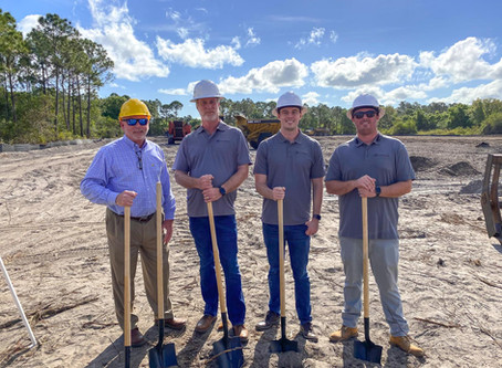 Project Ground Breaking at New K-12 Facility in Fort Pierce