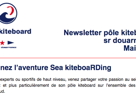 Newsletter du pôle kiteboard
