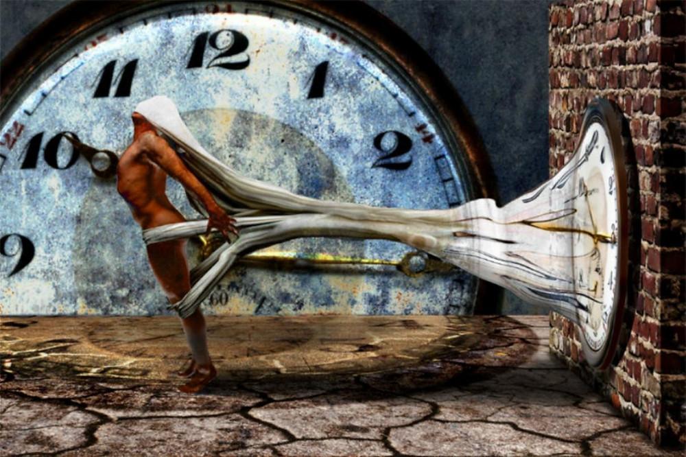 "Bild: ""slavery of time"" von Michael Borgulat"