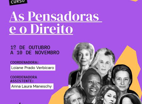 AS PENSADORAS E O DIREITO 1a edição