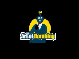 Art of Bombing Logo Bomb Telling Jokes