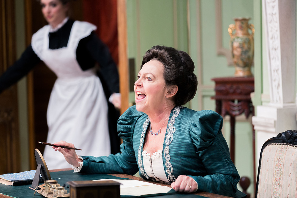 Tessa Peake-Jones plays the betrayed wife in John Cleese's Bang Bang! All pics: Paul Blakemore