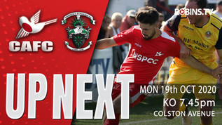On the road again - Robins looking for their first away win of the month