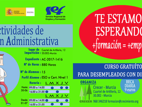 Curso AGA ( Plazas disponibles hasta 30-04 )