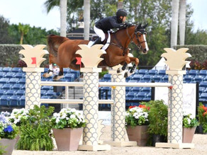Kent Farrington and Kaprice Gallop to Victory at Palm Beach International Equestrian Center