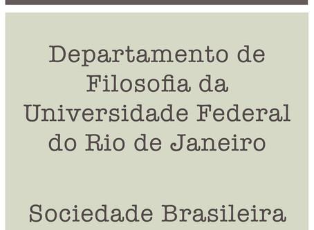 Notas de repúdio: Departamento de Filosofia da UFRJ e Sociedade Brasileira de Lógica