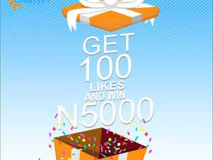 GET 100 LIKES ON YOUR POST AND WIN N500