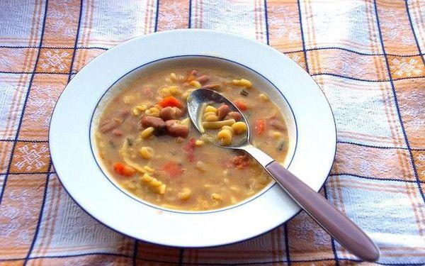 Recept na zdravou fazolovou polévku
