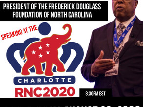 The RNC Speakers Including FDFNC President Clarence Henderson